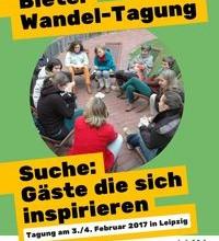 Demnächst in Leipzig: Transformation von unten – vom Handeln zum Wissen