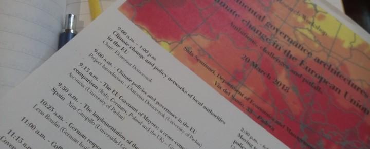 Warum klimapolitische Experimente (nicht) gelingen: Die Abwesenheit deutscher Kommunen vom Konvent der Bürgermeister